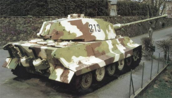 Panzerkampfwagen VI Königstiger ou Tigre II Laglei11