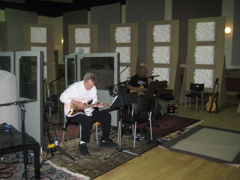 Recording session pictures Img_0110