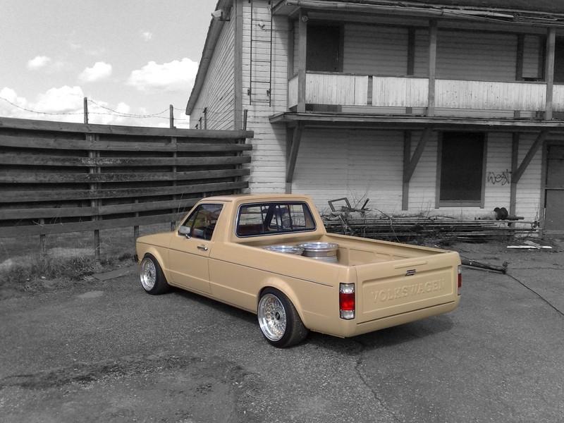 [ VW ] GOLF CADDY pick up / tolé - Page 5 Back10