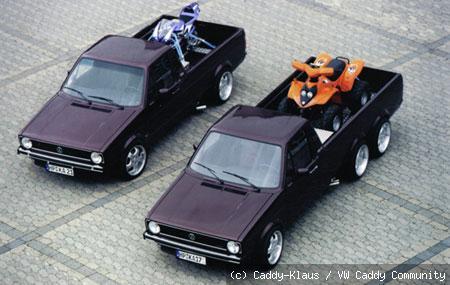 [ VW ] GOLF CADDY pick up / tolé - Page 5 Bild-811