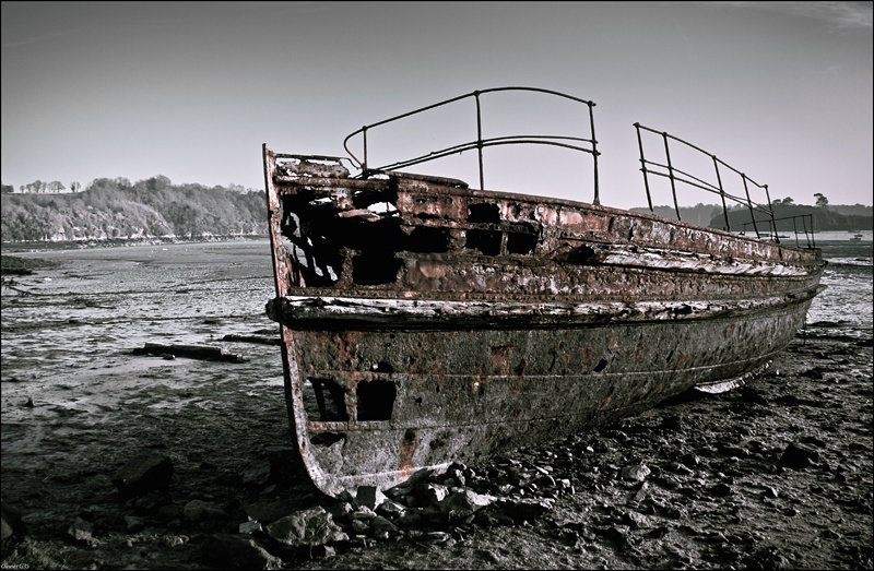 Boat of the living dead. Quelme11