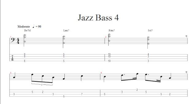Programme des cours sur caen et en ligne Jazz410
