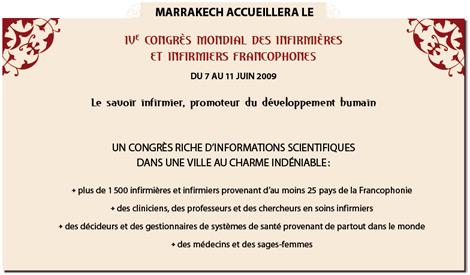 IV congrès mondial des infirmières et des infirmiers 2009 5ca13110