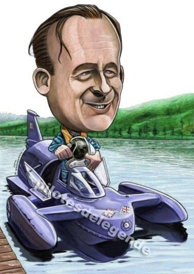 Caricature de pilote. Photos de sport auto. Campbe10
