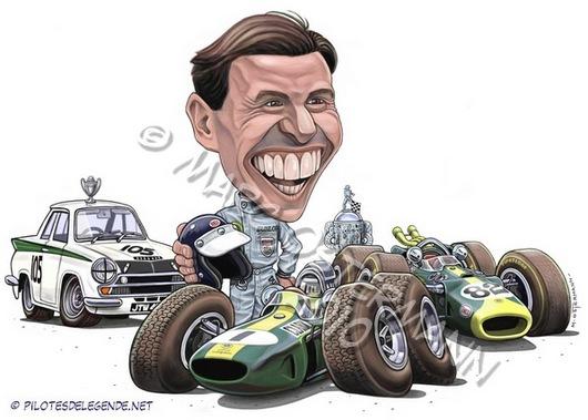Caricature de pilote. Photos de sport auto. - Page 2 Clark210