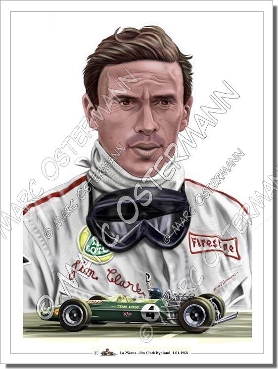 Caricature de pilote. Photos de sport auto. - Page 5 Clark_11