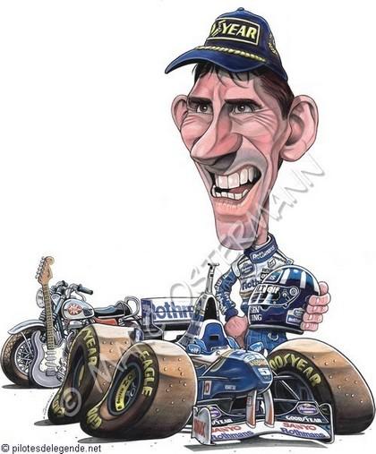 Caricature de pilote. Photos de sport auto. - Page 2 Dhill210