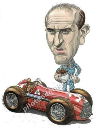 Caricature de pilote. Photos de sport auto. - Page 2 Farina13