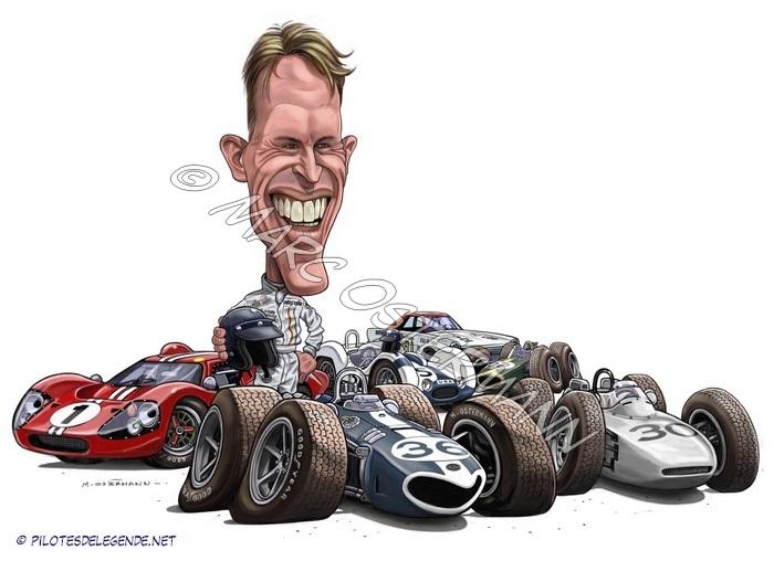 Caricature de pilote. Photos de sport auto. - Page 2 Gurney10