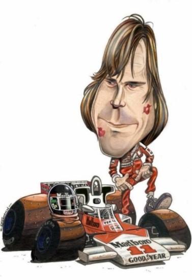 Caricature de pilote. Photos de sport auto. - Page 2 Hunt210