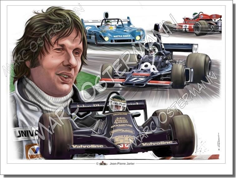 Caricature de pilote. Photos de sport auto. - Page 5 Jarier11