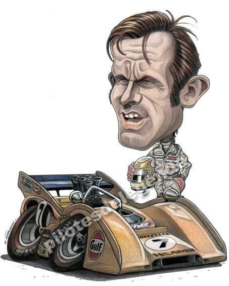 Caricature de pilote. Photos de sport auto. - Page 4 Revson10