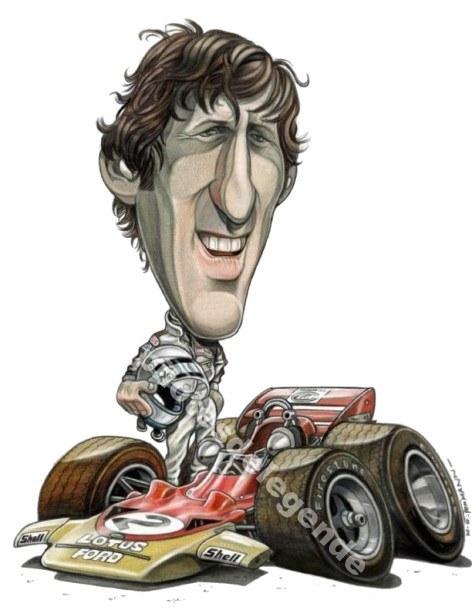 Caricature de pilote. Photos de sport auto. - Page 4 Rindt210