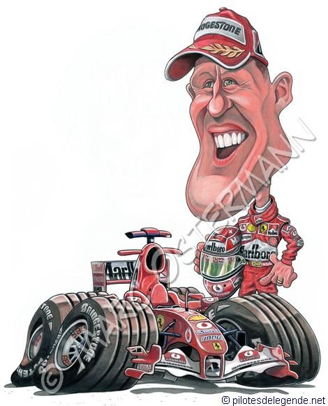 Caricature de pilote. Photos de sport auto. - Page 4 Schuma17