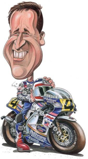 Caricature de pilote. Photos de sport auto. - Page 4 Spence10