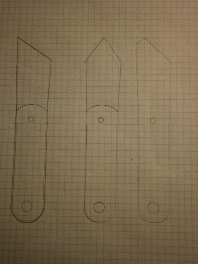 [Fabrication] tranchet / couteaux de traçage   P2160015