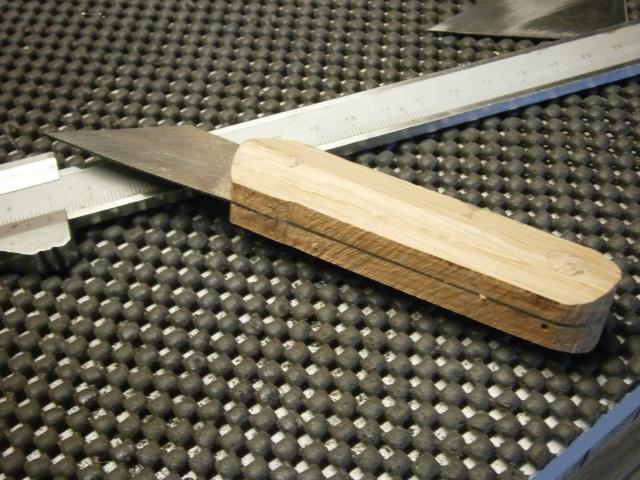 [Fabrication] tranchet / couteaux de traçage   P2160026