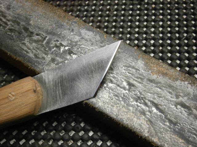 [Fabrication] tranchet / couteaux de traçage   P2160030