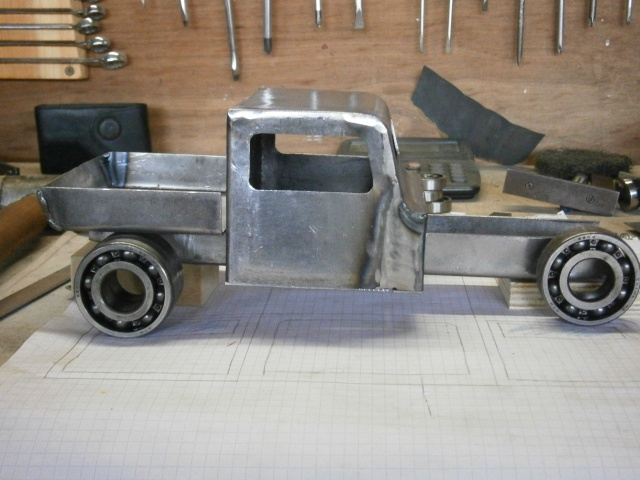 [fabrication] Hot Rod miniature ... P4080022