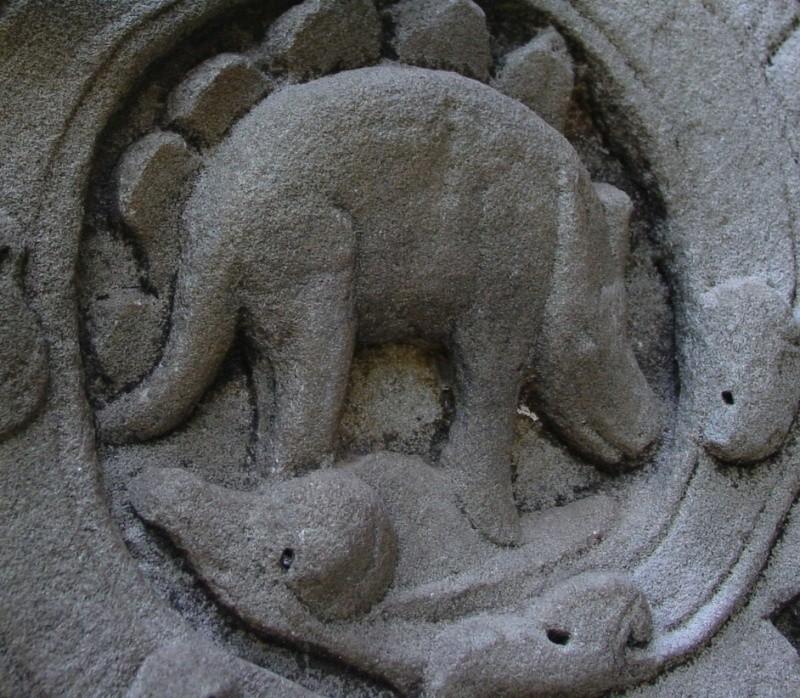 Des représentations de dinosaure trouvées dans les ruines d'un temple au Cambodge ! - Page 2 Dsc07910