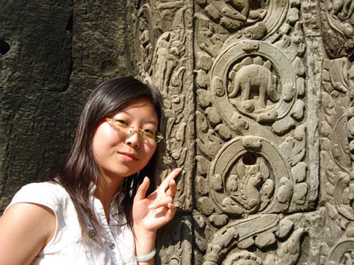 Des représentations de dinosaure trouvées dans les ruines d'un temple au Cambodge ! Stego10