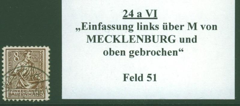 Mecklenburg - Mecklenburg - Vorpommern (OPD Schwerin) -Sowjetische Besatzungszone Meckle21