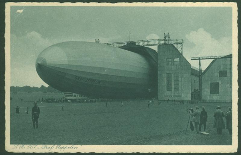 Zeppelinpost des LZ 130 Zeppel14