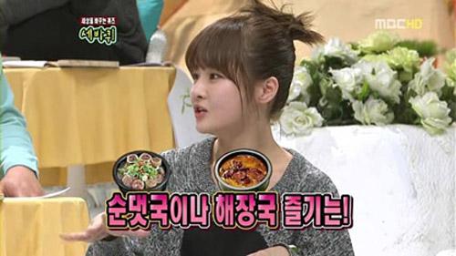 T-ara muestra su fuerza ,sus habilidades vocales y sus gustos en la comida.. 20101234