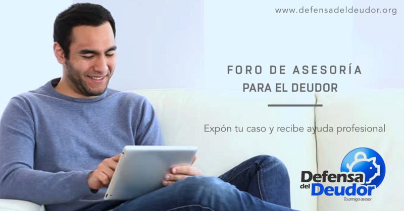 -Asesoría y ayuda para el deudor