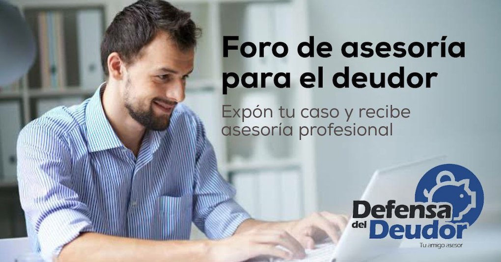 Asesoría y ayuda para el deudor mexicano