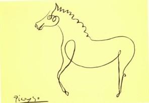 Pablo Picasso Cheval10