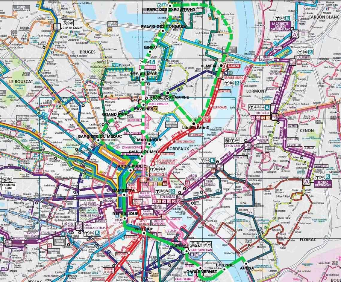 Un métro pour Bordeaux - Page 2 Reseau11