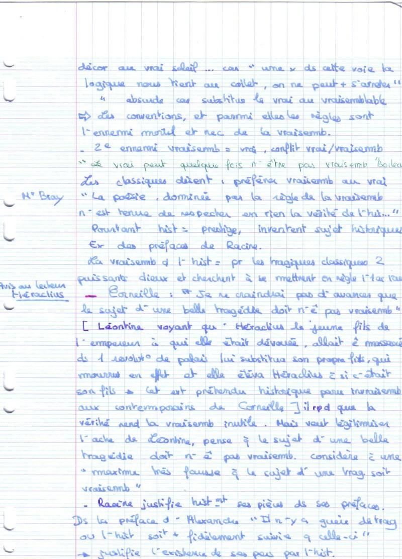 La dramaturgie classique en france de Sherer,chap1 les vraisemblances Vraise14