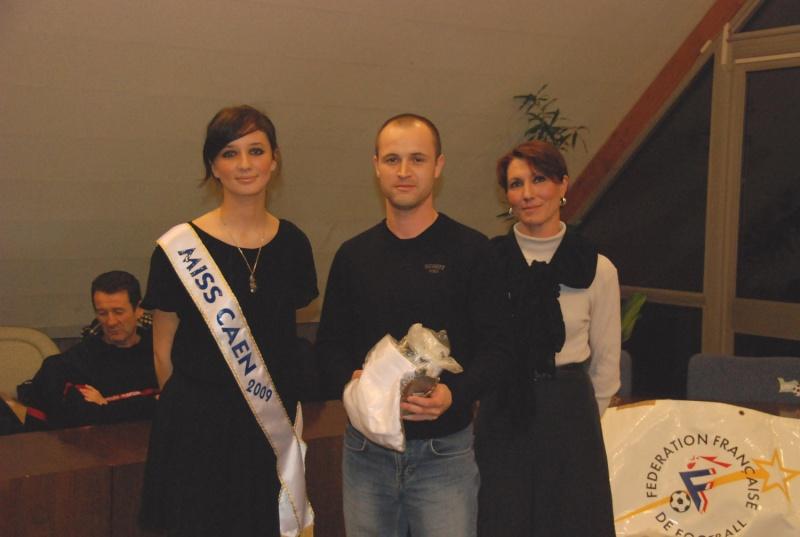 remise des récompenses saison 2007/2008 Chu210