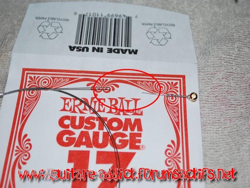 Changement de corde et reglage floyd rose 910