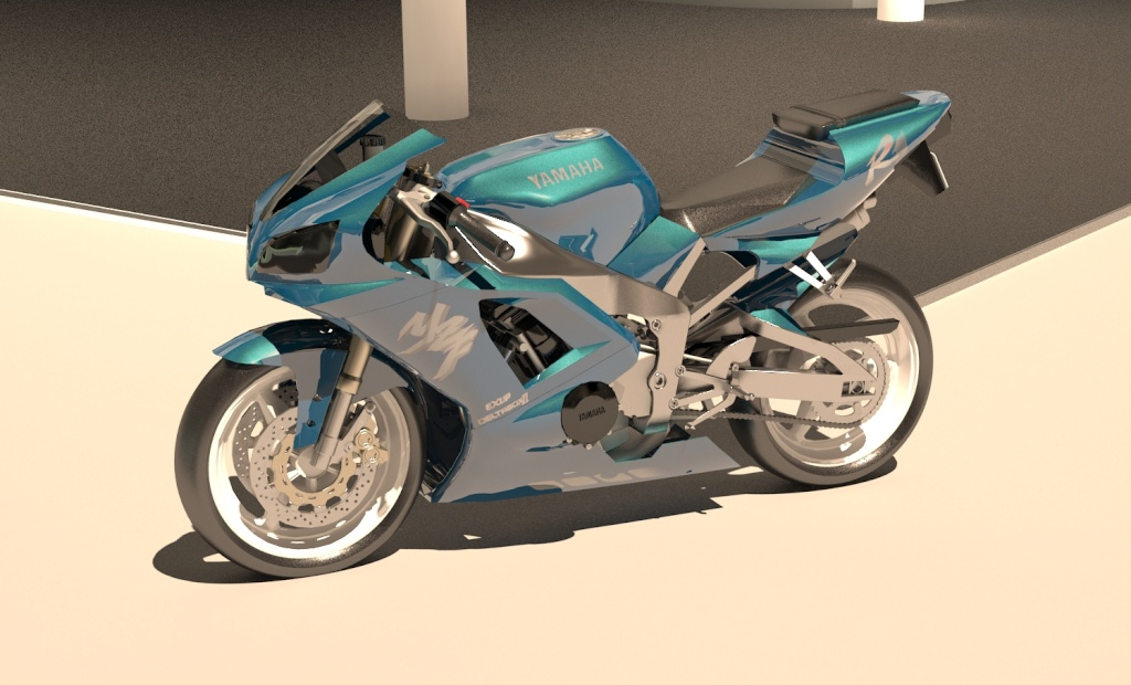WIP Yamaha R1 5510