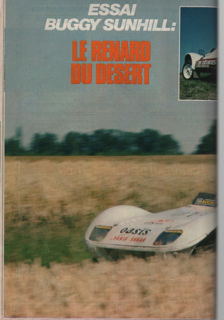 buggy - essai buggy sunhill dakar 1980 Buggy_10