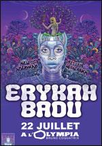 Erykah Badu à l Olympia 17145710