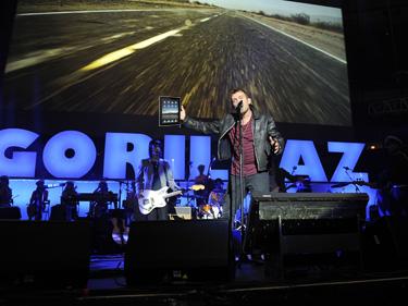 Gorillaz a enregistré son prochain album sur iPad 991d0010
