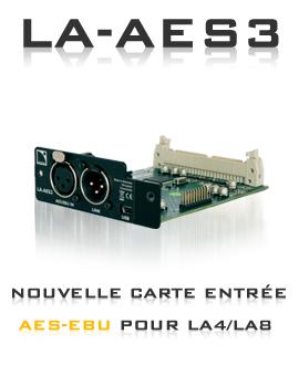 La carte LA-AES Aes_eb10