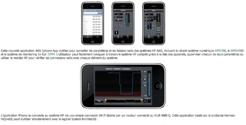 Akg et l'iPhone Captu104