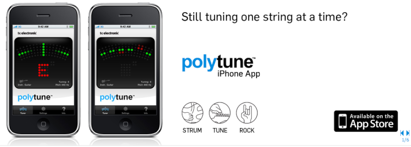 Polytune iPhone App by Tc electronic Captu195