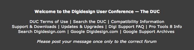 D.U.C ou Digidesign User COnference Captur31