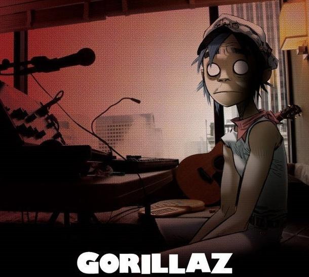 Gorillaz a enregistré son prochain album sur iPad Captur82