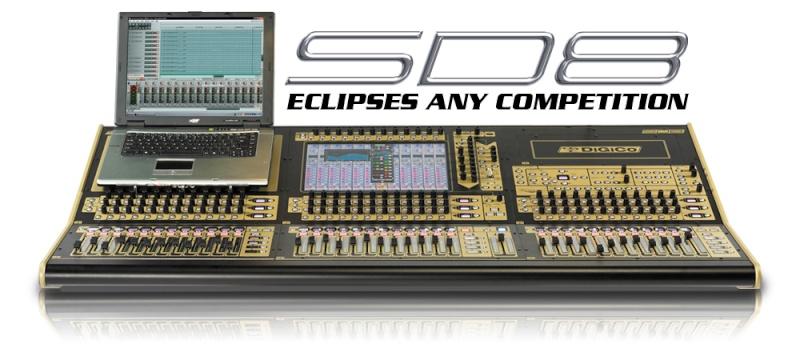 Digico SD8 Sd8-ho10