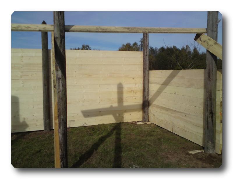Construction d un abris pour Jack et Maggy...enfin terminé le 27/11 Dsc00712