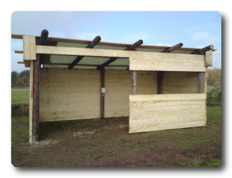 Construction d un abris pour Jack et Maggy...enfin terminé le 27/11 Dsc00719