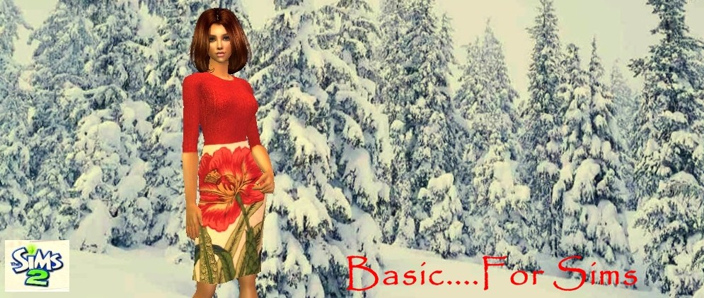 I - Adult Female Sims Basicb16