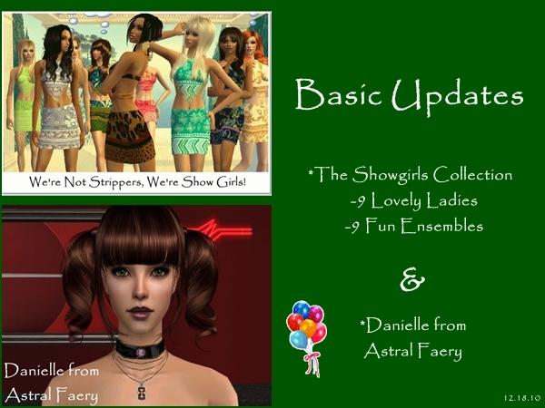 Updates for December 18, 2010 Basicu11
