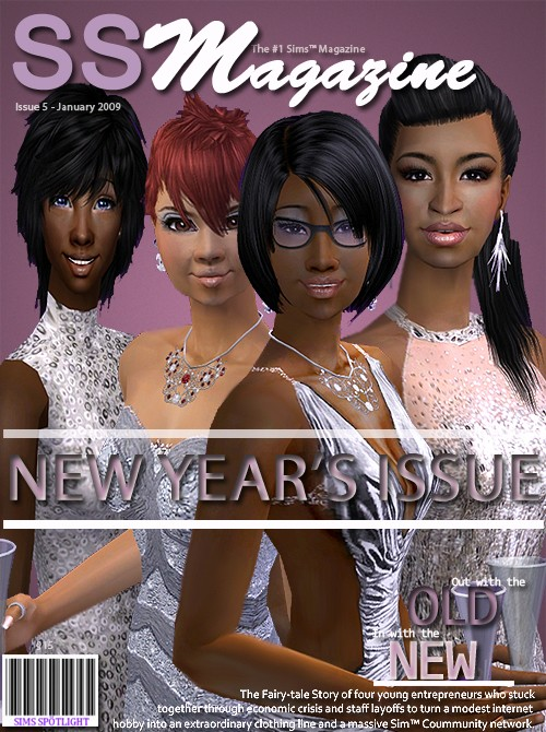 Sims Spotlight Magazine January Issue Ssmjan10